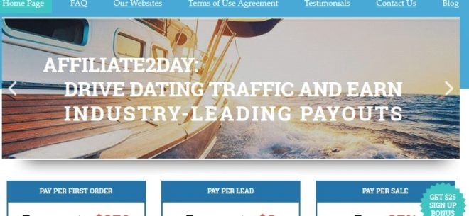 Affiliate dating Ltd