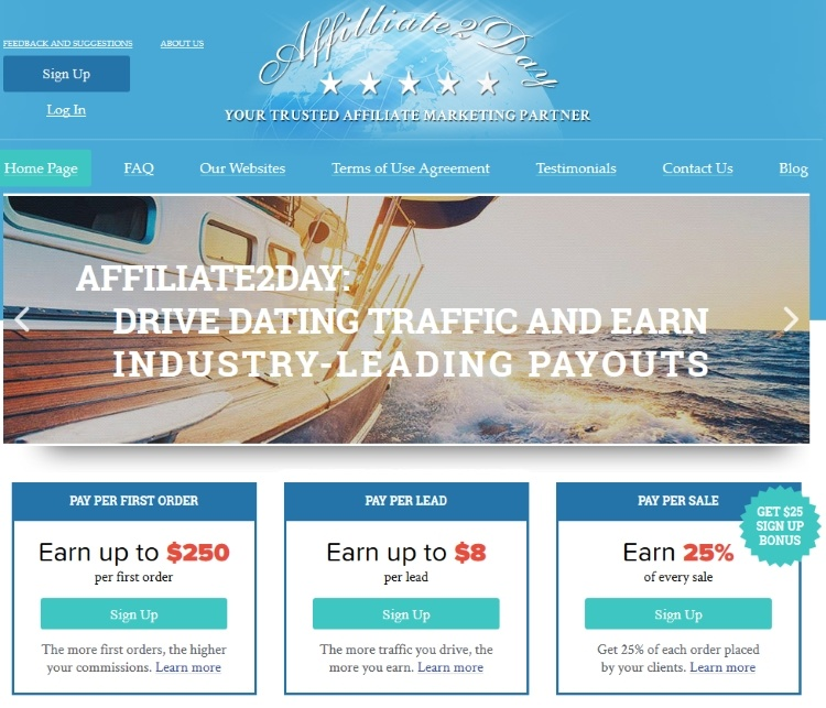 Why is Affiliate2Day the Best Dating Affiliate Program